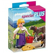 PLAYMOBIL Country Woman with Calves Set