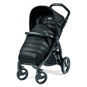 Peg Perego Book Completo Passeggino, Nero (Black)