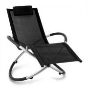 Blumfeldt Chilly Billy, fekete, kerti relax szék, alumínium (HMD1-Chilly-Billy-BK)
