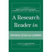 A Research Reader in Universal Design for Learning by Gabrielle Rappolt-schlichtmann