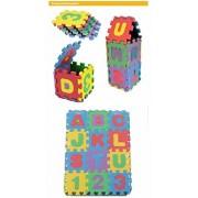 Unisex Mini Children Puzzles Kid Toys Educational 3D Puzzle Alphabet A-Z Letters Numeral Soft Foam Mat Rompecabezas