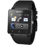 Sony SmartWatch 2 SW2, Silicone Black