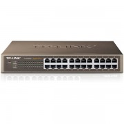 TP-Link TL-SG1024D 24-port Gigabit 10/100/1000Mbps Switch, desktop, interno napajanje AC 100-240V / 50-60Hz,