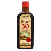 Bitter 50 plante cu Ganoderma - cu efect tonic asupra digestiei si ficatului