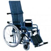 sedia a rotelle / carrozzina pieghevole ad autospinta con pedane - sc