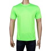 Coole-Fun-T-Shirts Coole Fun T Shirts Camiseta de running, tamaño S, color neongreen