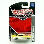 57 Chevy Bel Air (Metallic Pearl Yellow & White) 2011 Hot Wheels Garage 1:64 Scale Die-Cast Vehicle (GM 06/22)