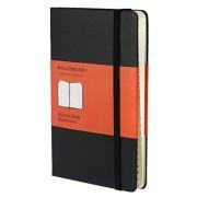 Moleskine Carnet d'adresses Format de poche Couverture rigide noire 9 x 14