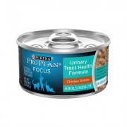 Purina Pro Plan Focus Adult Urinary Tract Health Formula Chicken Canned Cat Food, 3-oz, 24ct