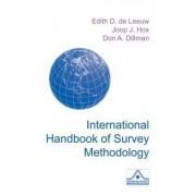 International Handbook of Survey Methodology by Edith Desiree De Leeuw