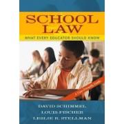 School Law by David Schimmel