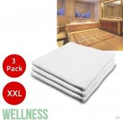 3 Pack Wellness Handdoeken XXL