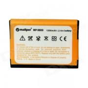 Mallper F-S1 Replacement 3.7V 1020mAh Li-ion Battery for BlackBerry 9800 / 9810 - Orange