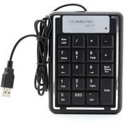 USB 19 Key Number Numeric Keypad MINI Keyboard For Laptop/Notebook PC Computer