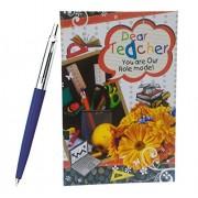 Natali™ Gift For Teacher - Greeting Card & Parker Pen