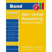 Bond Assessment Papers: Starter Papers In Non-Verbal Reasoning 6-7 Years