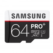 Card Samsung microSDXC PRO Plus 64GB Clasa 10 UHS-I 95MB/s