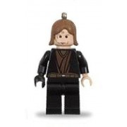 LEGO Anakin Skywalker with Black Right Hand Key Chain with Lego Logo Tile