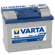Varta Blue Dinamic 12V 60Ah 540A bal pozitívos autó akkumulátor