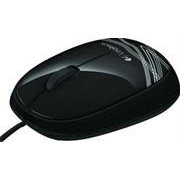 Logitech M105 Wired Mouse Black -3 Buttons with