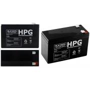 Akumulator BL1272 7.0Ah 86.4Wh Pb 12.0V 151x65x94x100mm Faston 4.75x6.35mm
