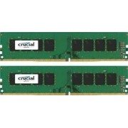 Kit Memorie Crucial 2x8GB DDR4 2400 MHz 1.2v Single Ranked x8 Dual Channel