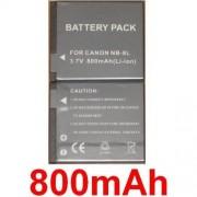 Batterie Pour Canon PowerShot A3000 A3100 IS NB-8L NB8L, **800mAh**