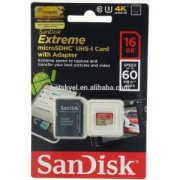 SanDisk Micro SD Extreme 16gb 60mb/s