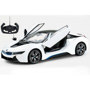 Radio Control Model Car 1/14 BMW i8 Authentic Body Styling w/Open Doors RC Vehicles (White)