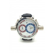 Spy Henry Lau Chic 2 Destination Wrist Watches Silver/Black SP788AC04PCTHK