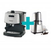 Cafetera Express Peabody Smartchef PE-CE4600 + Molinillo De Café Peabody Smartchef PE-MC9100