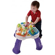 VTech Sit-to-Stand Learn & Discover Table This baby activity table is parental friendly