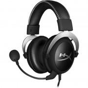 Casti HyperX Cloud Silver, Jack 3.5mm, Negru/Argintiu