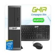 GHIA COMPAGNO SLIM / INTEL CORE I3 6100 DUAL CORE 3.70 GHZ / 4 GB / 1 TB / SFF-N / WINDOWS 10 PRO