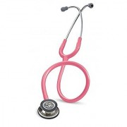 3M Littmann Classic III Stethoscope Machined Stainless Steel Chestpiece Pearl Pink Tube 27 inch 5633