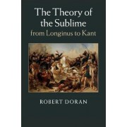 The Theory of the Sublime from Longinus to Kant by Robert Doran