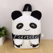 Personalized Black and White Panda Baby Bag Stuffed Soft Plush Toy