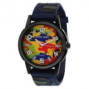 Swissarmy Multi-color Dial Analog Wrist Watch With Fauji Style