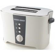 Black & Decker ET122 800 W Pop Up Toaster(White)