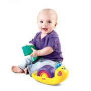 Fisher-Price Growing Baby: Rainbow Snail Stacker