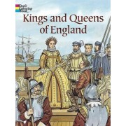 Kings and Queens of England Coloring Book by John Green