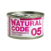 NATURAL CODE CAT 05 POLLO E PROSCIUTTO 85GR