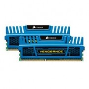 Memorie Corsair Vengeance Blue 8GB (2x4GB) DDR3 PC3-12800 CL9 1600MHz 1.5V XMP Dual Channel Kit, CMZ8GX3M2A1600C9B