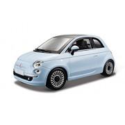 BBurago 15622106 - Fiat 500, 2007, 1: 24 (couleurs assorties)