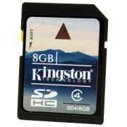 Kingston - SD4/8GB - 8 GB - SDHC - Clasa memorie Clasa 4