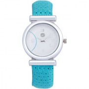 Shostopper Classic White Dial Analogue Watch For Women - SJ62012WW