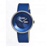Crayo Cr0202 Button Unisex Watch