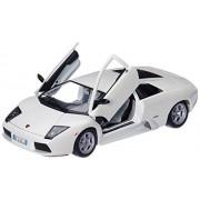 Bburago 1:18 Lamborghini Murcielago Miniature Vehicle 2001, White