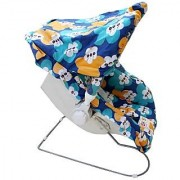 Carry Cot Rocker And Rocker 9 In 1 - Blue Green Color