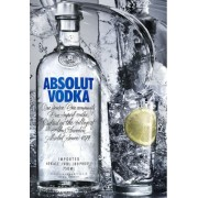VODKA ABSOLUT 1L.